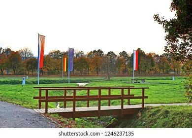 Triangel of the countries Germany Poland  czech republic