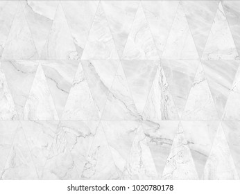 triangular marble tiles. seamless marble wall pattern , for Interiors design. High resolution