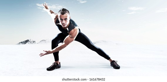 Muscle Stretch Images, Stock Photos  Vectors  Shutterstock-1906