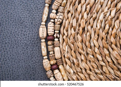 African beads images stock photos vectors shutterstock for Local handmade jewelry near me