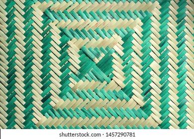 Tribal colorful geometric pattern. Craft Indigenous Baskets. Brazil