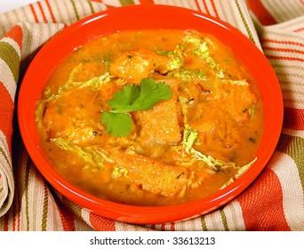 Tribe meat soup