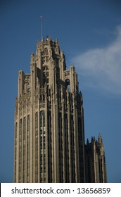 Tribune Tower in Chicago, Illinois