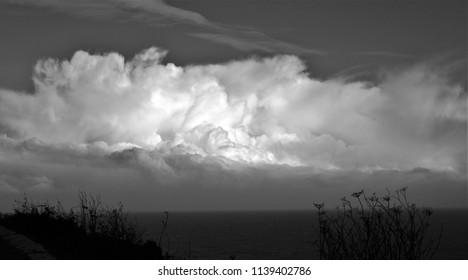 tribute to Ansel Adams,Series of black and white artistic cloud photographs,