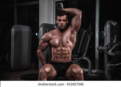 Triceps workout.
