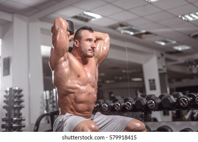 Triceps Workout With Dumbbells