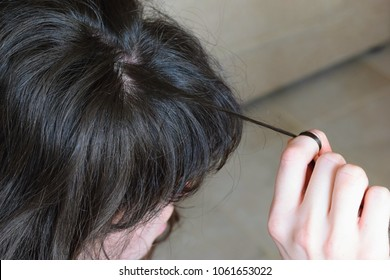 Trichotillomania, human impulse behavioral problem,hair pulling disorder