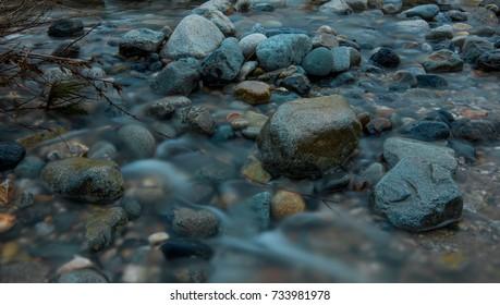 Trickle Trough the Rocks