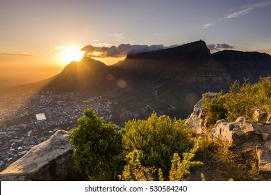 It was a tricky hike with a couple of colleagues to the top of Lions Head in Cape town. It was also dark during our ascent, but the resulting view and sunrise were spectacular.