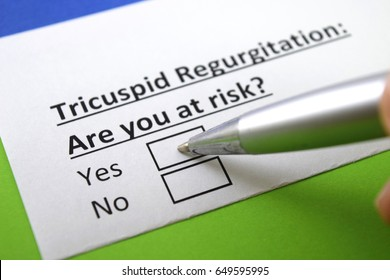 Tricuspid regurgitation : are you at risk? yes or no