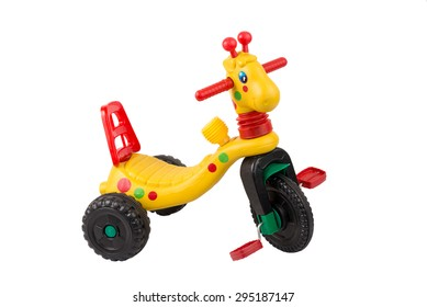 Tricycle toy car.