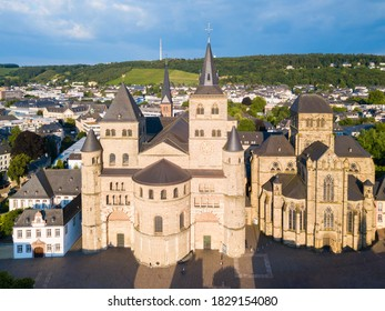 Trier Cathedral or Trierer Dom St. Peter and Liebfrauenkirche or Church of Our Lady in Trier city in Germany - Shutterstock ID 1829154080