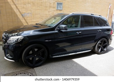 Trier, Germany - May 24, 2019: Mercedes-Benz is a global automobile marque and a division of the German company Daimler AG.