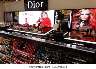 Trier, Germany - November 3, 2018: Christian Dior SE, commonly known as Dior, is a European luxury goods company.