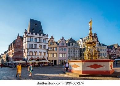 Trier, Market, Germany