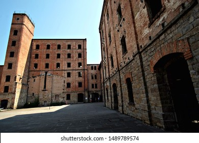 Trieste / Italy - July 30 2019: view of the buildings of the Risiera di San Sabba