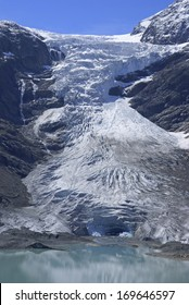 Trift Glacier situated in the Urner Alps, Switzerland