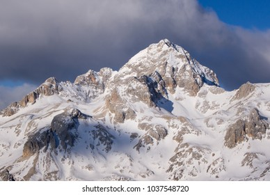 Triglav, highest mountain in Slovenia. Triglav National Park, Julian Alps, Slovenia.