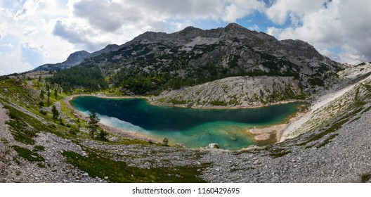 The Triglav Lakes Valley (Dolina Triglavskih jezer; Dolina sedmerih jezer) is a valley in the Julian Alps in Slovenia that is hosting multiple lakes.