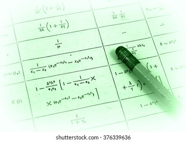 Trigonometry calculations (photo of private notes/prints)