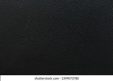 trim black leather texture background