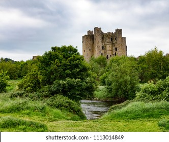 Trim Castle in Trim, County Meath, Ireland Europe
