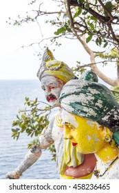 TRINCOMALEE SRI LANKA - Koneswaram Hindu temple deity statues