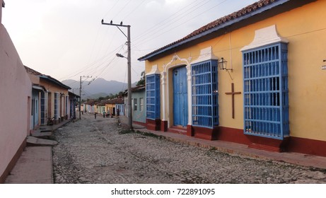 Trinidad, Cuba - 2016 - Traditional house in the street