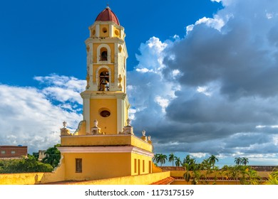 Trinidad, Cuba: Church Tower of the former Saint Francis of Assisi Convent