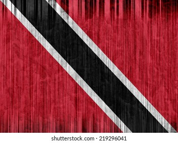 Trinidad and Tobago flag paper texture