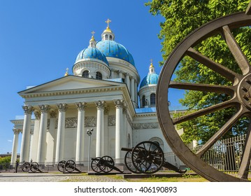 Trinity Cathedral (it was the regimental church of the Izmailovsky regiment). St.-Petersburg, Russia