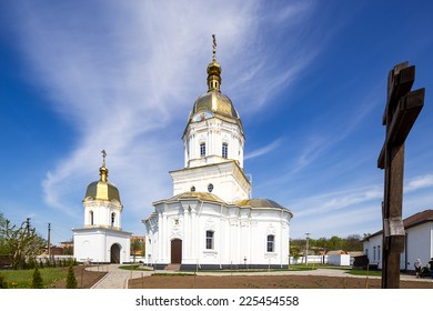 Trinity Church in Dykanka. Poltava. Ukraine.