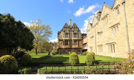 Trinity College Gardens, Oxford, United kingdom