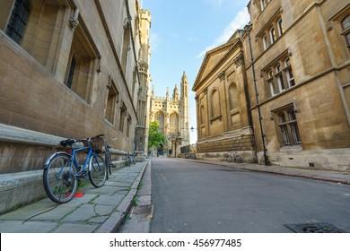 Trinity Lane in Cambridge