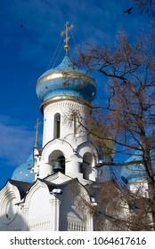 Trinity Sergius Lavra. Sergiyev Posad, Russia. Popular landmark.