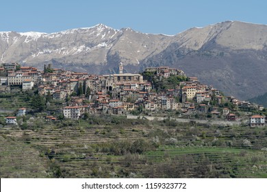 Triora. Ancient village in Liguria region of Italy
