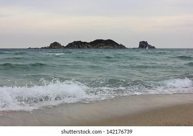 The Triozerye Bay, Japan Sea