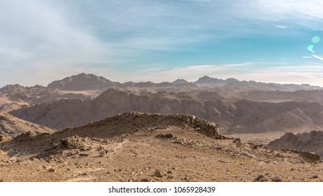 a trip to sinai desert
