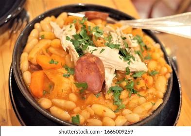 Tripas a Moda do Porto (Tripe in the style of Porto is a traditional dish from Porto Portugal) - Shutterstock ID 1665009259