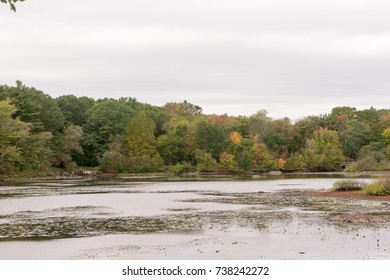 Triphammer Pond, Wompatuck State park, Hingham, MA