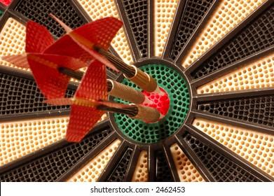 Triple Bullseye!