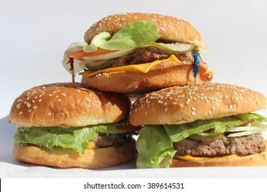 Triple Cheeseburgers 2.