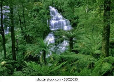 Triplet Falls in Otway National Park