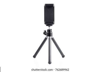 Tripod for Mobile Phone on white