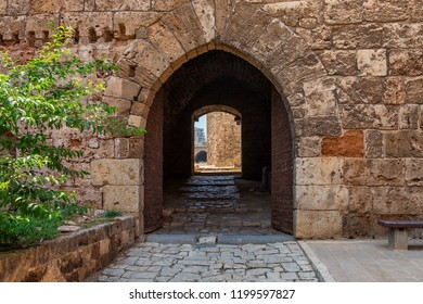 Tripoli Historical Citadel Entrance, Lebanon - August 05, 2015: the Citadel of Raymond de Saint-Gilles