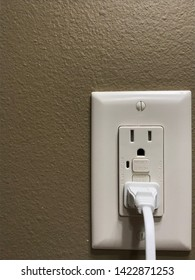 Tripped Ground Fault Interrupter Outlet