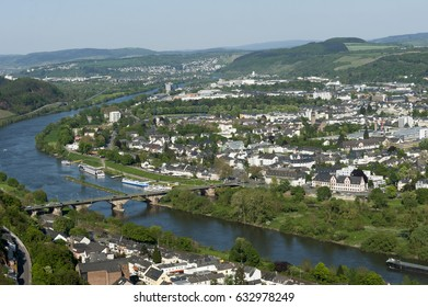 Trir Germany, aerial view