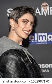 """Tristan Risk attends 19th Annual Horror Film Festival - Screamfest - """"Rabid"""" Los Angeles Premiere - Arrivals at TCL Chinese Theatre, Hollywood, CA on October 16, 2019"""