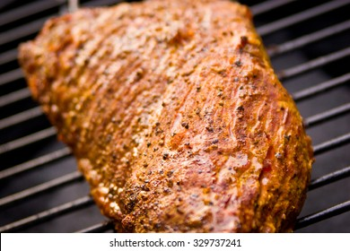 Tri-tip Steak on the Grill