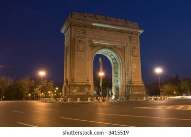 Triumphal Arch from Bucharest, Romania